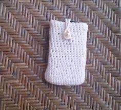 Θήκη πλεκτή για κινητό. Straw Bag, Crochet, Handmade, Bags, Fashion, Handbags, Moda, Hand Made, Fashion Styles
