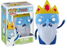 Funko are proud to present the latest addition to their ever-expanding Pop! Vinyl collection, Ice King from Adventure Time. The hit Cartoon Network show is making waves across the globe and so will these cool new Adventure Time Pop! Adventure Time Toys, Ice King Adventure Time, Pop Vinyl Figures, Funko Pop Figures, Marceline, Cartoon Network, Adveture Time, Pop Figurine, Pop Toys