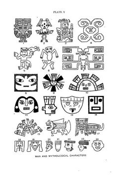 Peruvian art as shown on textiles and pottery Peruvian Art, Mythological Characters, Peruvian Textiles, Weaving Designs, Inca, Natural History, Psychedelic, Mythology, Tatoos