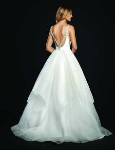 Designer: Hayley Paige Style: Dare Available at Bliss Bridal in Wisconsin. www.blissbridalonline.com