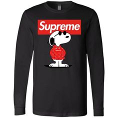 Boss Snoopy Supreme Long Sleeve 30 And Single, Bella Canvas, Supreme, Size Chart, Boss, Snoopy, Graphic Sweatshirt, Sport, Sweatshirts