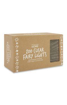 200 Clear Fairy Lights