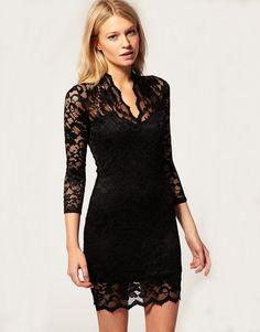Perfect black holiday dress :)