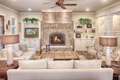 nice 50 Awesome Farmhouse Style Fireplace Ideas  https://decoralink.com/2018/02/22/50-awesome-farmhouse-style-fireplace-ideas/