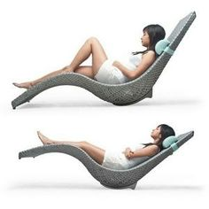 Kenneth Cobonpue   Mermaid Chaise Lounge By Kenneth Cobonpue
