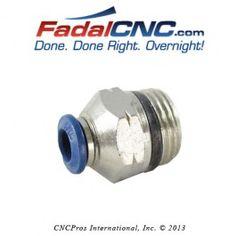 PLM-0030 FITTING 1/4 QD X 3/8 MIPT ST FadalCNC.com