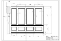 personalised panelling drawings