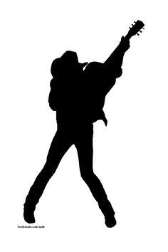 Dwight Yoakam silhouette logo. #musiclogo http://www.pinterest.com/TheHitman14/music-logos-%2B/