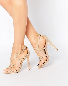 Truffle Collection | Truffle Collection Helen Strappy Heeled Sandals at ASOS