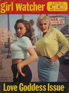 """""""GIRL WATCHER"""" MAGAZINE, 1959"""