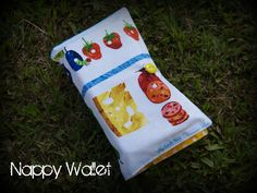 Very Hungry Caterpillar Nappy Wallet from My Little Hero Designs  www.facebook.com/mylittleherodesigns