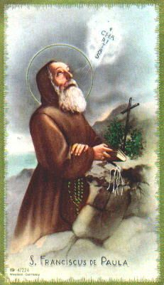 Saint Francis of Paola, pray for us! [Feast day April 2]