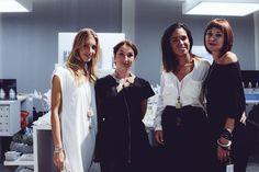 The Italian perfumer Gabriella Chieffo and her staff at Pitti Fraganze 12