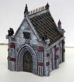 "Matt Sterbenz Miniature Painting: ""Tabletop World"" Resin Medieval Buildings"