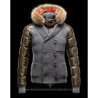 900a163cc272 Moncler Doudoune Homme Youri Gris Hooded Jacket, Vest Jacket, Vest Men,  Fashion Trends