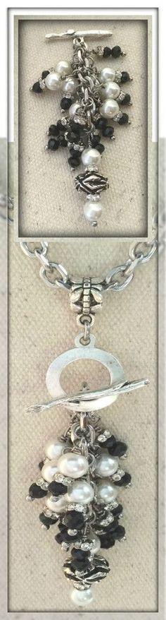 Interchangeble Beaded Dangle Necklaces