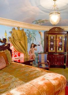 Designer Gianni Versace Celebrity Home: Interior