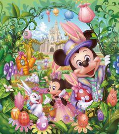 Tokyo Disney Resort Sets Plans For Spring.
