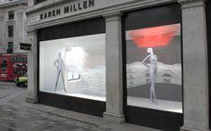 @Karen Millen window display as part of the RIBA London, Regent Street Windows project 2013.