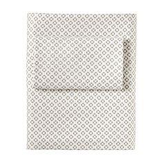 Serena & Lilly  Cut Circle Sheet Set –Bark #serenaandlily $130 per twin set