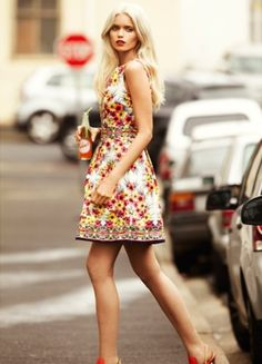 Best of Punchy Floral Dresses