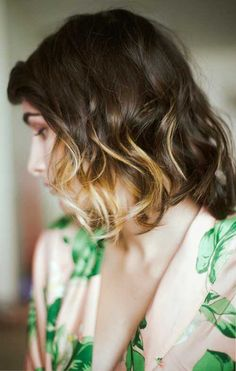short ombre hair   2013 Hair Color Trends for Short Hair
