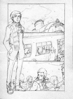 Dramione mini comic page 1 of 6