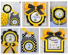 Door Sign, Bumble Bee Theme, Welcome Door Hanger. $14.00, via Etsy.