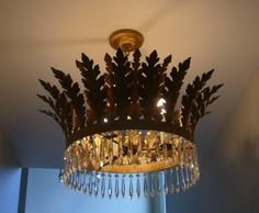Julie Neill, New Orleans...another one of my favorite go to....to decorate with CROWNS....