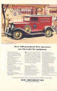 1931 Chevrolet Truck Ad
