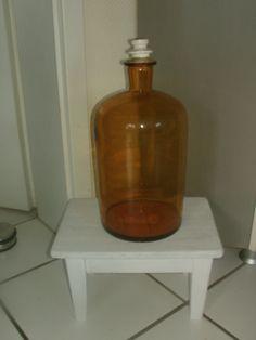 """XXL """"große alte Apothekerflasche"""" Vintage von MajaSt auf DaWanda.com"""