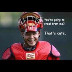 Yadier Molina is my favorite :)