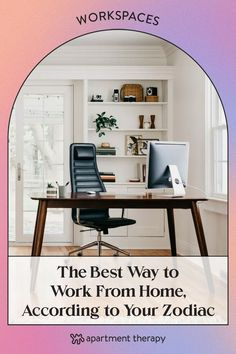 There's no right or wrong way to work from home, but if you're ready for a routine revamp, the career coaching team at FlexJobs has shared their top tips on how to create the best work from home routine. Home Office, Office Desk, Work From Home Tips, Career Coach, Creative Activities, Home Hacks, Dining Room Table, Apartment Therapy, Zodiac