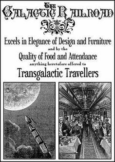 .Victorian Space Travel