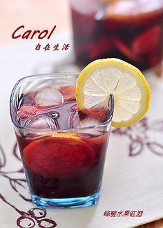 Carol 自在生活 : 蜂蜜水果紅酒