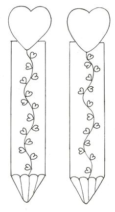 Bookmarks for VDay Free Printable Bookmarks, Bookmark Template, Diy Bookmarks, Corner Bookmarks, Colouring Pages, Coloring Sheets, Coloring Books, Step Card, Felt Books