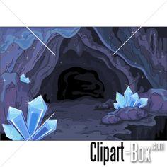 CLIPART DIAMONDS CAVE   Royalty free vector design