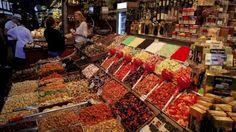 Colourful history: La Boqueria, Barcelona.