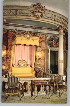 One of the bedrooms in Vanderbilt Mansion