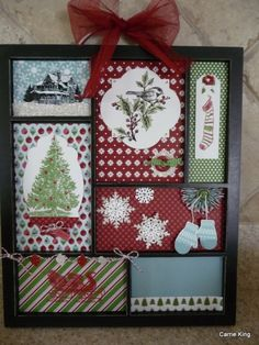 Christmas Printer Tray Class - Stampin' Connection