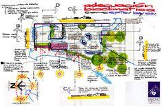 SANCHEZ ANGULO ARQUITECTOS Arquitectura Sustentable: CASA BIOCLIMATICA EN CULIACAN.SINALOA. Bocetos