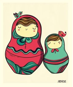 Matrioska!... Cute sketch