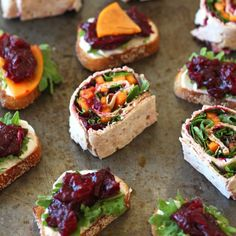 Wrap up your favorite winter produce with Balsamic Roasted Cranberries for a tasty pinwheel appetizer.