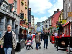 Galway, Ireland were my grandmother's family is from. She was half-Kirwin, half- McNevin.