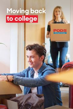 Getting ready to move your kid back to #College? #CollegeMoves are easier with a PODS container, so you can skip the rental truck and let PODS do the driving for you. #CollegeMovingTips College Moving Tips, Back To College, Moving Store, Get Moving, Pods Moving And Storage, Getting Ready To Move, Self Storage, Stressed Out, Storage Solutions