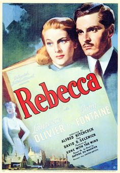Great Film and Great Book! Only one of Hitchcock's to win the best picture Oscar. Circa 1940.