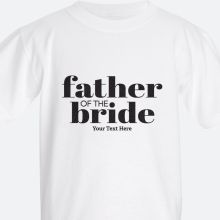 father of the bride Kids' T-shirts