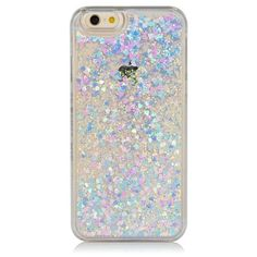iPhone 6 Iridescent Glitter Case Accessories Sand Dollar Dubai ($38) ❤ liked on Polyvore featuring accessories, tech accessories, phone cases, fillers and phones