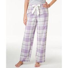 Alfani Plaid Flannel Pajama Pants