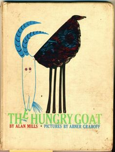The Hungary Goat - Abner Graboff  #goatvet collects art which feature goats